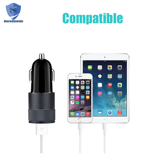 Factory Supplier 5V 2.1A Quick Mobile Phone Universal Car Charger/ Smart Dual USB Car Charger 3.0 Type C Charger