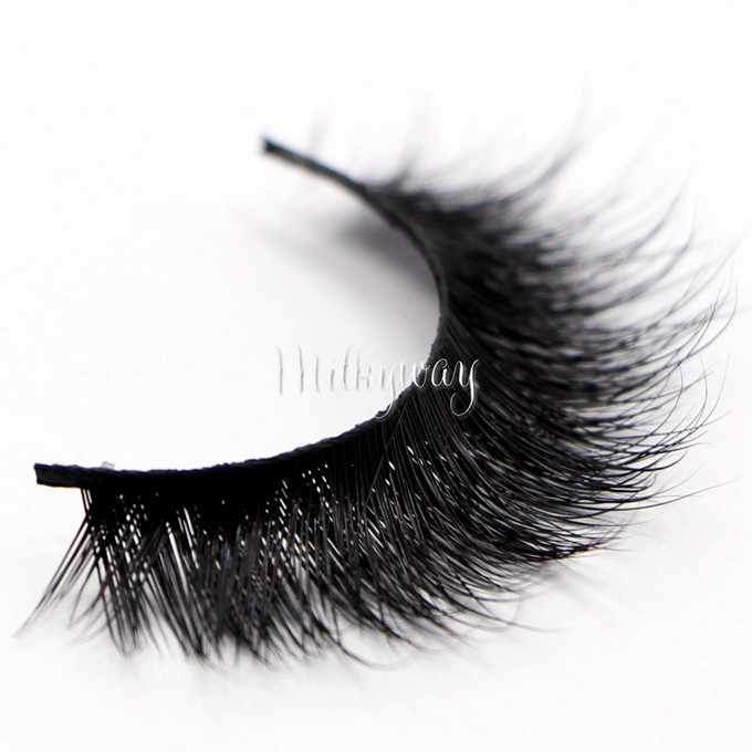 Wholesale Price Luxury 3d Mink Fur Lashes False Strip Eyelashes