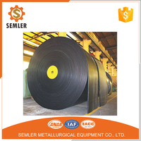 Plastic Rubber Belting Conveying Feed Pvc Solid Woven Conveyor Belt
