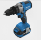 Hot Sale DC-20V Cordless 0-130NM Double Speed Rotary Hammer Drill Machine