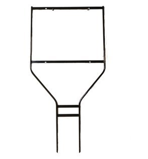 "Banjo Frame for 24""W x 36""H Sign; Powder Coat Black; 3/8"" round rod frame -- (10 per box)"