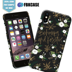 Hard PC mobile phone cover, for iPhone X Custom Printed Phone Case with full color design OEM ODM