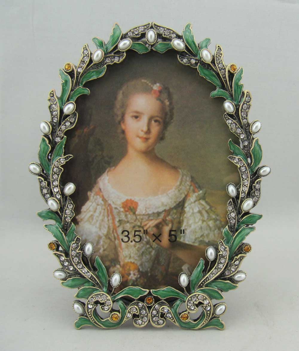 Rhinestone pearl picture frames wholesale picture frame suppliers rhinestone pearl picture frames wholesale picture frame suppliers alibaba jeuxipadfo Images