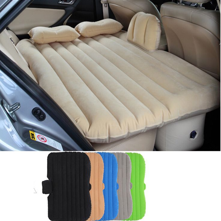 Cheap Adult Sized Inflatable Car Bed For Back Seat