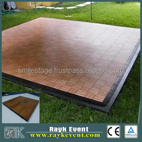 Best Price Portable Modular Pvc Dance Flooring Black White Wood