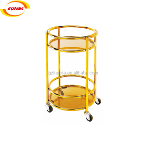 hotel beautiful cheap price high quality liquor trolley ktv bar cart hotel service cart series B-002A
