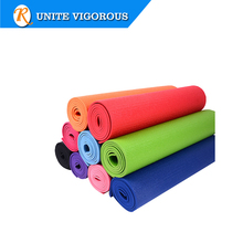 Color custom 6mm PVC Pilates mat yoga mat