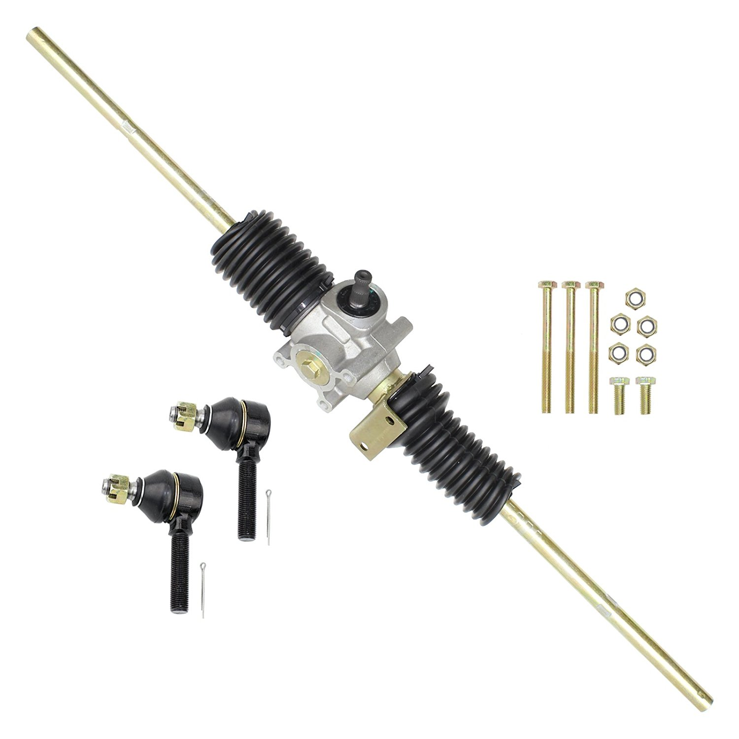 CALTRIC RACK and PINION w/TIE ROD ENDS FIT John Deere AM135374