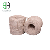 Waterproof paper cord for indoor and outdoor furniture chairs material