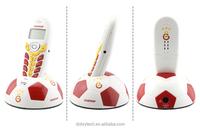 Special Football DECT Cordless Phone Home Landline, 1 Handset or 2 handsets