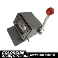office plastic card cutting machine round shape PVC card die cutter