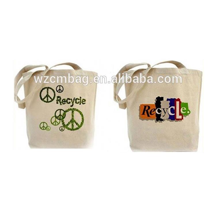 Eco-friendly natural color  Cotton Bags