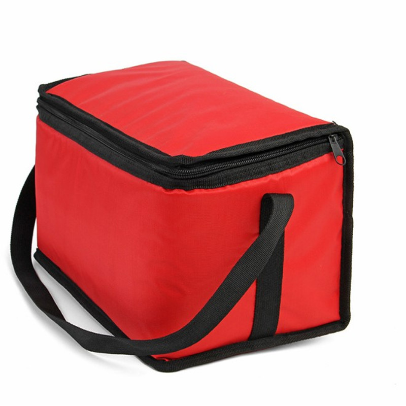 Promo Insulated 600D outdoor picnic lunch bag with zipper