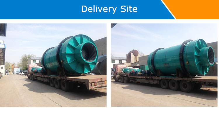 High Quality Three-Drum Dryer Rotary Dryer Hot Air Rotary Dryer