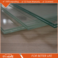 Tempered Glass Wall Divider , Office Glass Wall Partitions