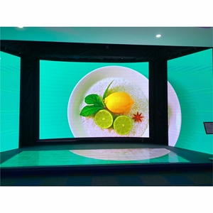 P3 P3.91 Slim HD Curved Flexible Indoor Video Led Wall Display For Church