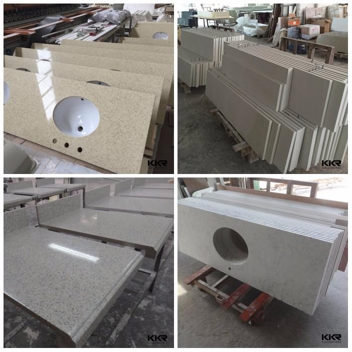 Quartz Composite Stone Countertop Kitchen Top From China