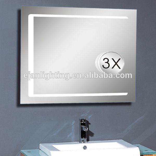 online direct order furniture bath 3x rectangular magnifying lighted vanity mirror buy lighted. Black Bedroom Furniture Sets. Home Design Ideas