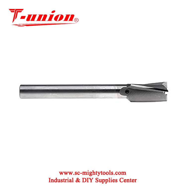 5//16 MT1 HSS HSS Import Interchangeable Pilot Counterbore Taper Shank 3 Flute