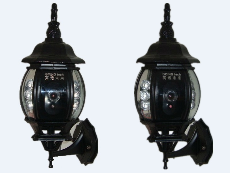 Wireless Outdoor Security Camera Hd 1080p Street Light Hidden Ip ...