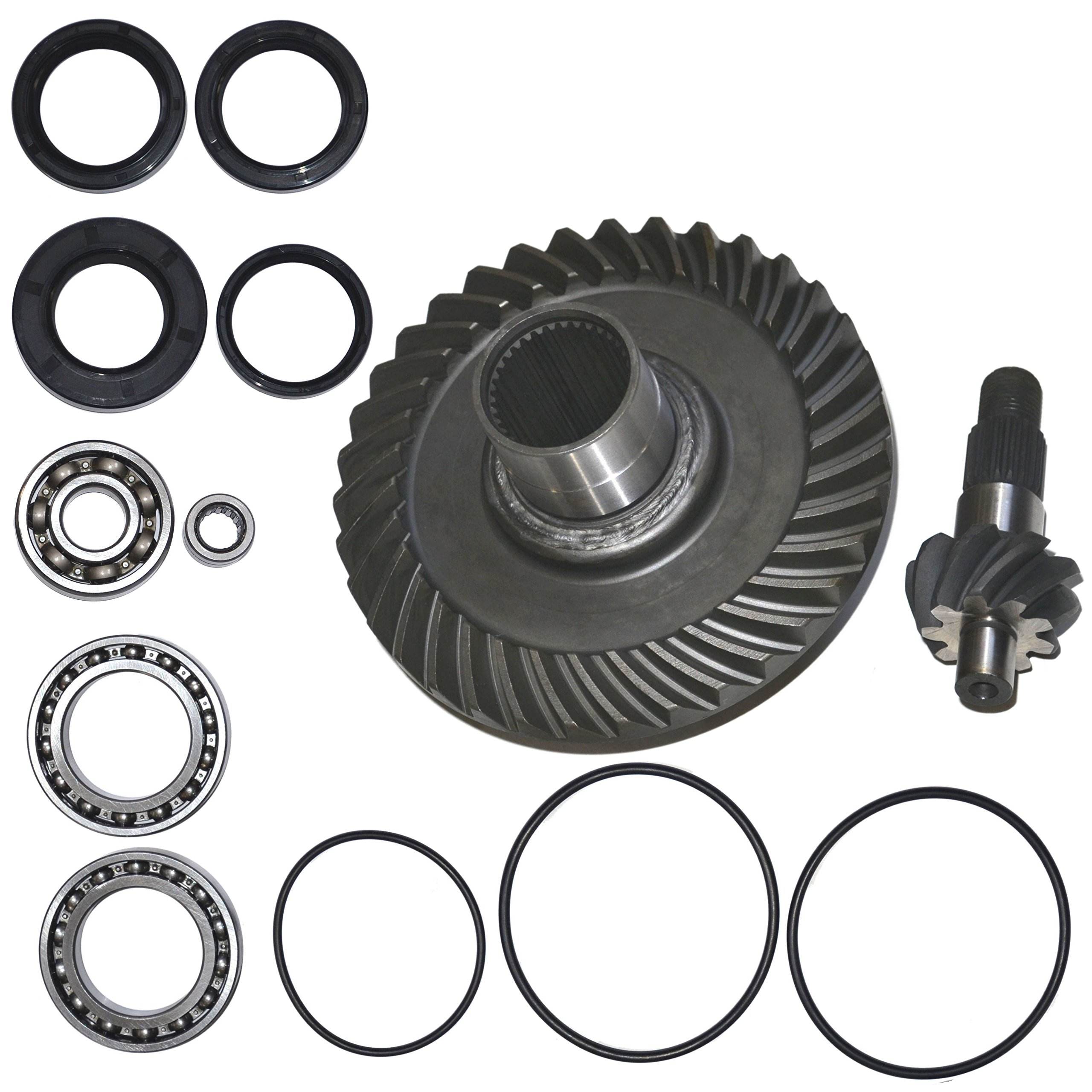 Fourtrax Rear Differential Ring and Pinion Gear & Bearing Fits 1988-2000 Honda TRX300 300