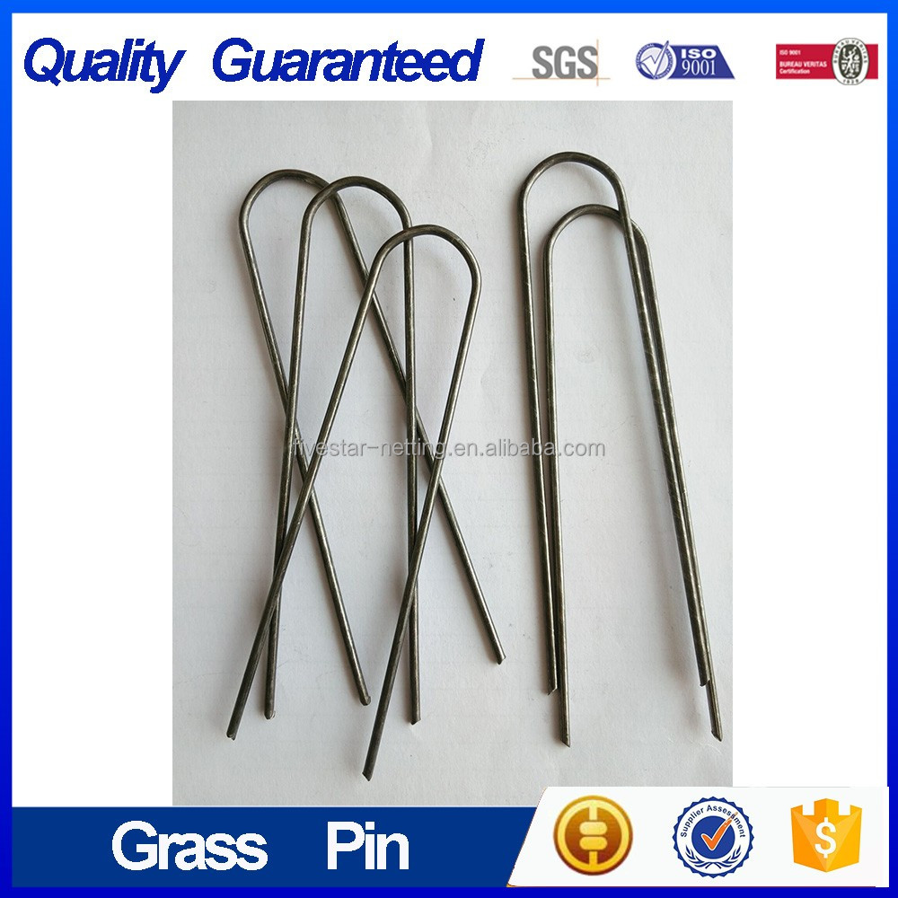 U Turf Pin/Turf <strong>Nails</strong>/Steel Plain Sod Staple Pins