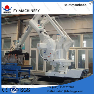 All Types Automatic Robot Palletizer For Carton Box