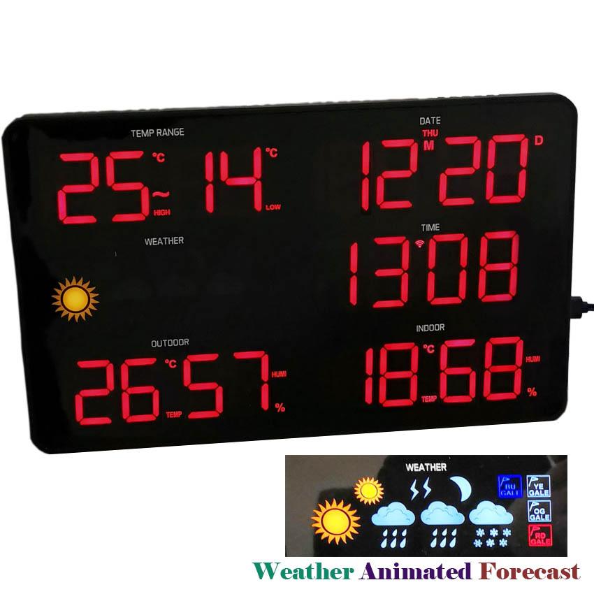 Creative Magnetic Ball Wall Clock Perpetual Wall Calendar 2019 Novelty Decor European Style Calendar Clock Timer Planner Date Calendar Office & School Supplies