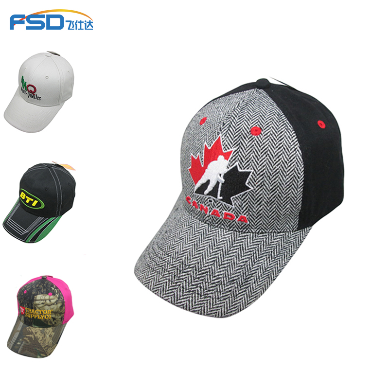 Custom Embroidery Logo Mens Baseball Caps