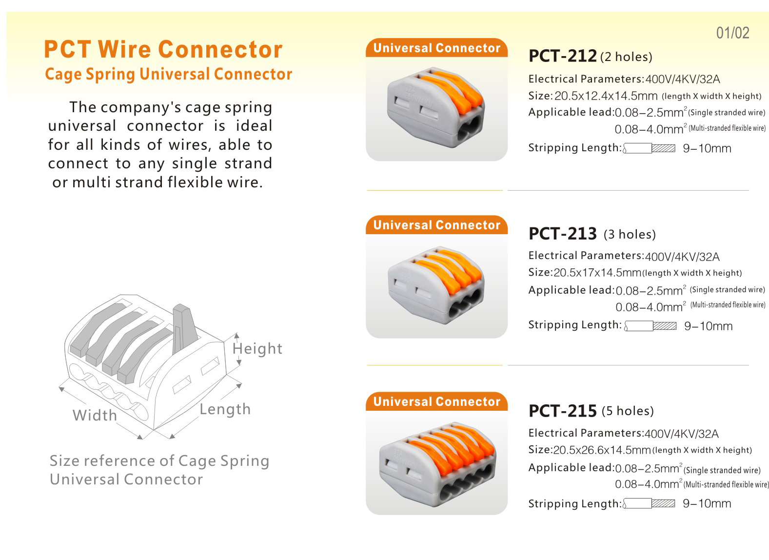 Hot Selling Quick Connect Wiring Connectors For Pct Connection Buy