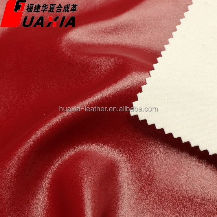 comfortable pu synthetic garment leather