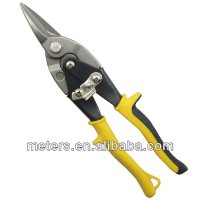 Straight CRV Aviation Tin Snips For Cutting Steel Sheet