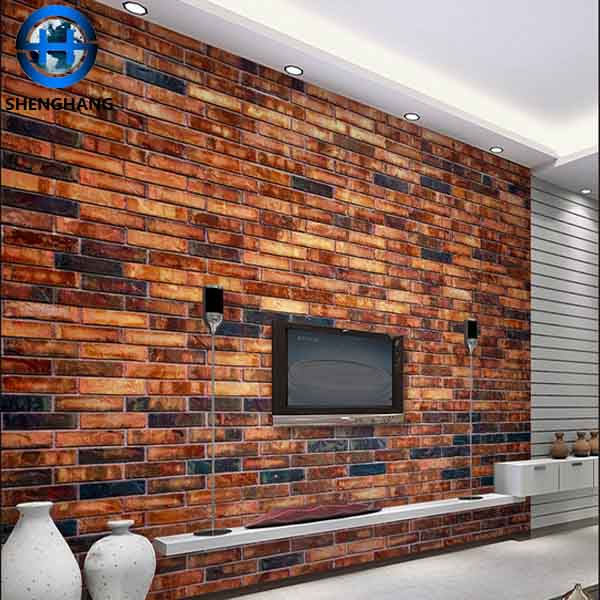 Living Room 3d Wallpaper Stone Hot Sale Brick Pattern Wall Paper