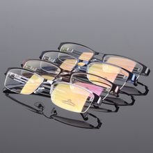 Top quality new arrival wide temple metal optical frames