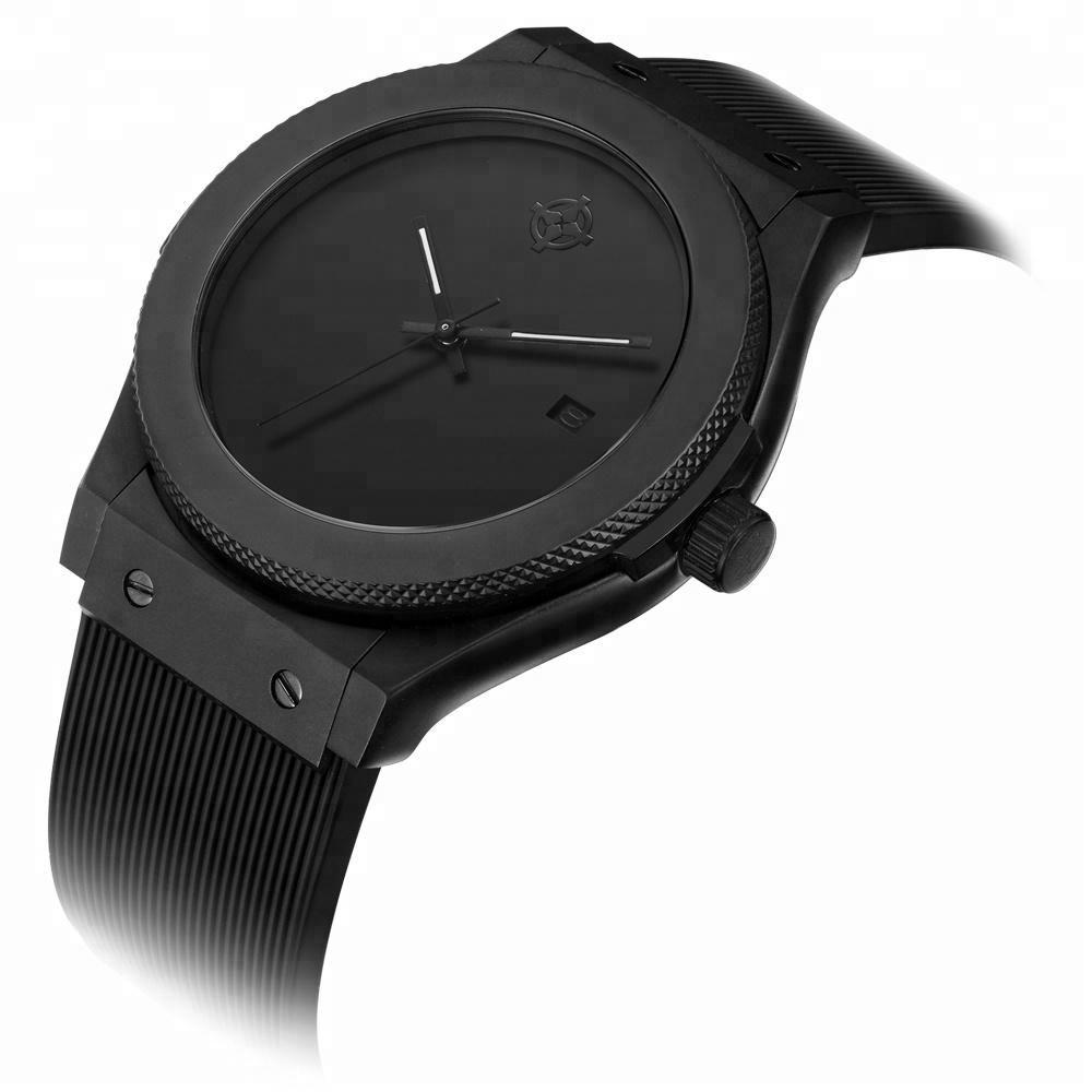 OEM kabul özelleştirilmiş marka Logo japon kuvars mekanizmalı saat
