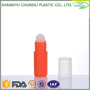 plastic cosmetic pomade sport perfume ,empty cosmetic deodorant container with plastic roll on bottle medical application;