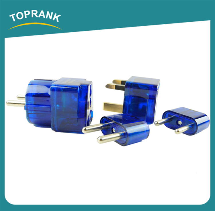 Toprank Hot Sell International Plug Universal Power Adaptor Travel Electric Adapter Universal Travel Adapter With Usb