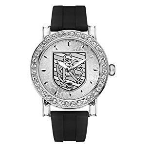 Marc Ecko Mens THE SYMBOL Silver Patterned Dial Black Rubber Strap Watch E08509G1
