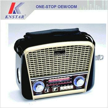 Portable Vintage Radio Retro Style With Usb Mp3 Music Player - Buy ...