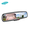 Full HD 1080p in-dash car tft color monitor dvr rearview mirror with backview car camera,wireless car front view camera