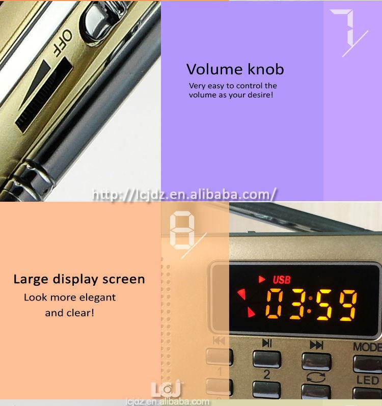 L-218 Manual For Mini Digital Speaker,Fm Radio Mini Digital ...