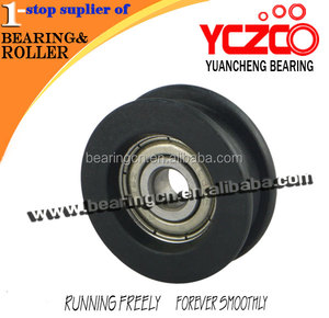 Miniature sliding door roller/caster wheels for sliding door accessories