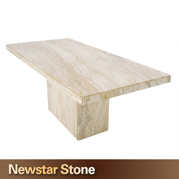 Personnaliser Accepté Moderne Marbre Travertin Table Basse - Buy ...