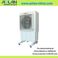 industrial water cooled chiller spot air con evaporative air cooler fan