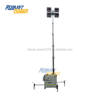 Competitive Price 4x480W Outdoor LED Light Tower Generator