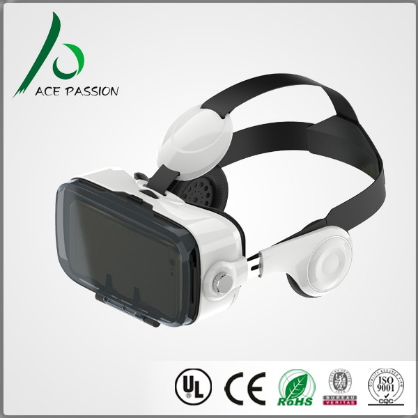 Smart phone accessory 3d vr headset from shenzhen