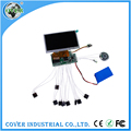 Video movement led video greeting card module