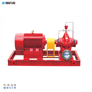 UL/FM Listed Chinese Fire Water Pump Sets With Electric Motor Split Case Centrifugal Pump 1250gpm@140-155PSI