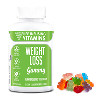 Private label energy gummy bear garcinia gummy for weight loss