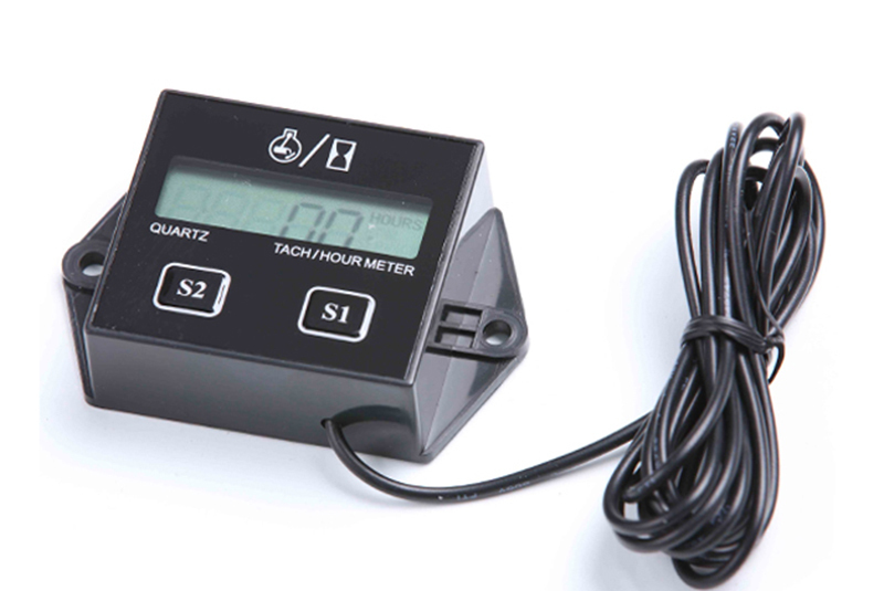Tachometer With Hour Meter : Contempo views tach hour meter hm r backlight lcd gasoline